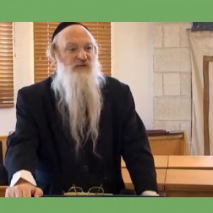 הרב סטבסקי 2 -חינוך לגיל הרך